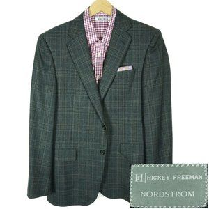Hickey Freeman Legacy Blazer Jacket Size 40R